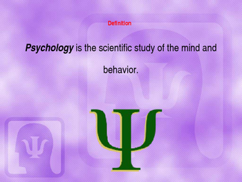 50 Questions About Psychology