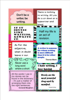 50 Quotations for Writing Classes