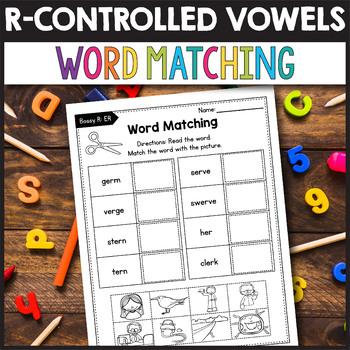 R Controlled Vowels Activities, R Controlled Vowels AR and OR