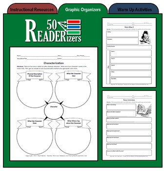 50 READERizers (Graphic Organizers for Literature and Reading)