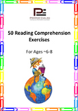50 Reading Comprehension Exercises for Ages 6-8 (Grade 2)
