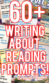 60+ Daily Writing About Reading Prompts