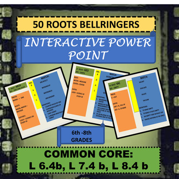50 ROOTS BELLRINGERS INTERACTIVE POWER POINT