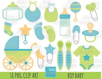 50% SALE BABY BOY clipart, baby clipart