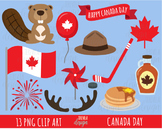 50% SALE CANADA DAY clipart, canada clipart, maple syrup, beaver, maple leaf