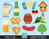 50% SALE GERMANY clipart, octoberfest clipart