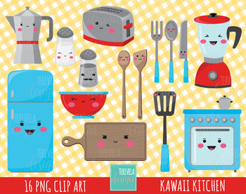 50% SALE KITCHEN clipart, kitchen tools clipart, commercial use, kawaii clipart