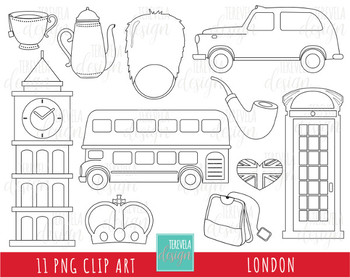 50% SALE LONDON digi stamp, uk graphics/british