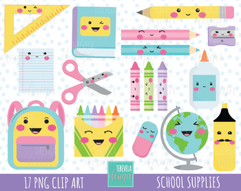 50% SALE SCHOOL clipart, back to school clipart, school supplies clipart