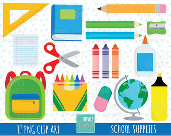 50% SALE SCHOOL clipart, school supplies clipart