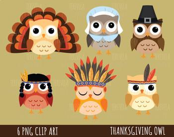 50% SALE THANKSGIVING clipart, FALL/autumn clipart, thanksgivin owls clipart