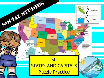 50 STATES AND CAPITALS Practice and game
