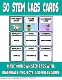 50 STEM Labs Cards - Make Your Own Science Technology Engineering Math Labs