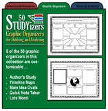 50 STUDYizers (Graphic Organizers for Studying and Analyzing)