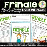 Frindle Novel Study Frindle Novel Guide and Activities (over 115 pages)