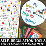 SELF-REGULATION COPING STRATEGIES: Use in Your Take A Break & Calm Down Corner