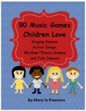 Movement in the Classroom: 73 Singing Games for Kids, Action Songs, Folk Dances