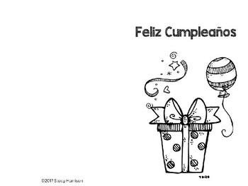 Spanish Birthday Cards (Feliz Cumpleaños)