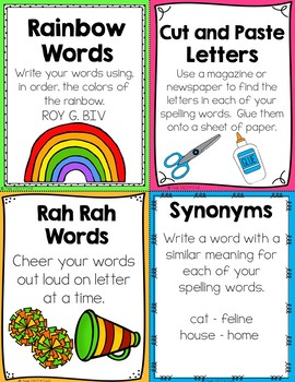 50+ Spelling & Word Work Activities & Spelling Lists for the Entire Year