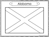 50 State Flag Color Worksheets Geography Curriculum.