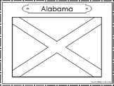 50 State Flag Color Worksheets State Symbols Curriculum.