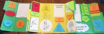50 State History Interactive Lapbook Bundle