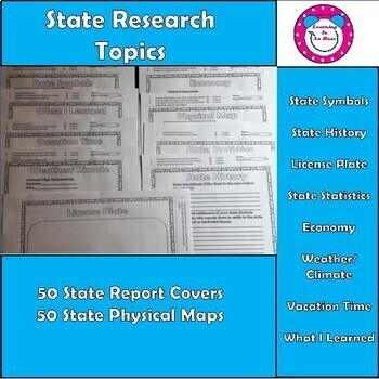 State Report  - 50 State Research Report Bundle