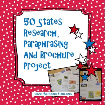 50 States Brochure Project