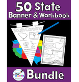50 States Banner and Workbook Bundle