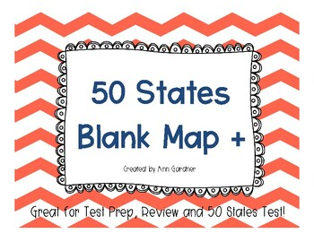 50 States - Map Collection +  3 Map Styles - Great for Tes