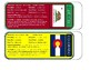50 States Bookmarks/Flashcards