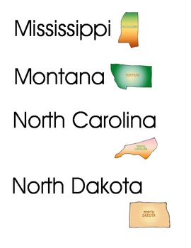 50 States Cards