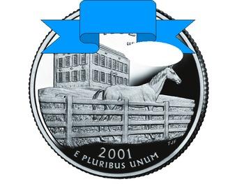 50 States Coin Quarter Trivia
