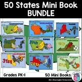 50 States Complete Mini Book Bundle - 50 States Mini Books