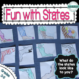 50 States--Creative Thinking Fun!