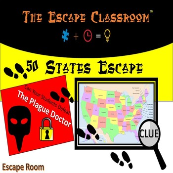 Escape Room: 50 States  | The Escape Classroom