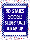 50 States Google Slide Project- Partially Editable
