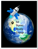 50 States Group Study w/ a Star Trek Theme: Grades 3-5