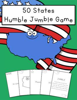 50 States Humble Jumble Game