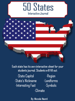 50 States Interactive Journal