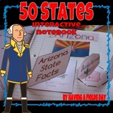 50 States Interactive Notebook