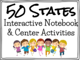 50 States Interactive Notebook and Center Activities
