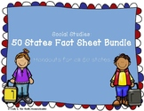 50 States Learning Handouts