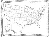 50 States Map Quiz