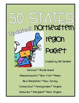 50 States - Northeastern Region Packet