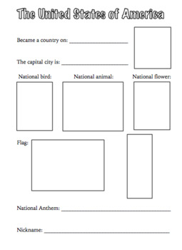 50 States Older Elementary Notebook