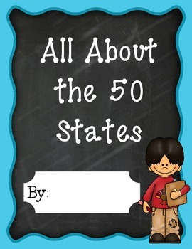 50 States Posters or Research Books