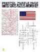 50 States Puzzle Page (Wordsearch and Criss-Cross)