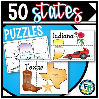 50 States Puzzles