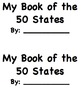 50 States Research Book Half Pages
